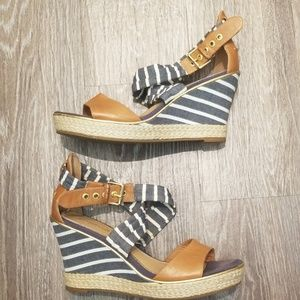 Sperry Top Sider Strappy Wedges